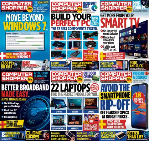 Computer Shopper – Full Year 2020 Collection Issues
