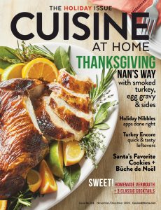 Cuisine at Home – November-December 2020