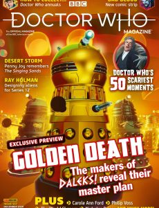 Doctor Who Magazine – Issue 557 – December 2020