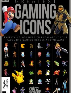 Greatest Gaming Icons – Second Edition 2020