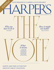 Harper's Magazine – November 2020