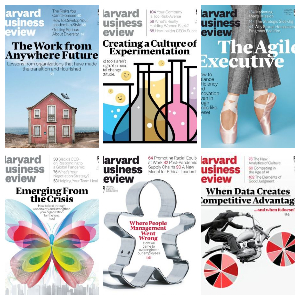 Harvard Business Review USA – Full Year 2020 Collection