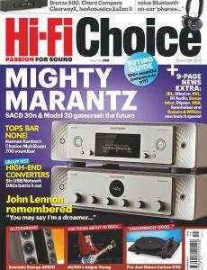 Hi-Fi Choice – November 2020