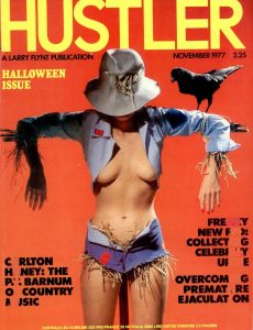 Hustler Magazine USA – November 1977