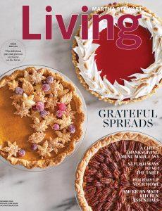 Martha Stewart Living – November 2020
