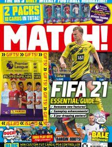 Match! – October 06, 2020