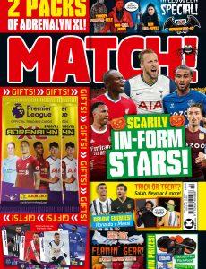 Match! – October 27, 2020