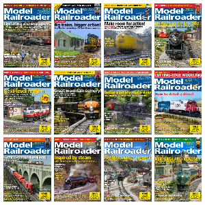 Model Railroader – Full Year 2020 Issues Collection