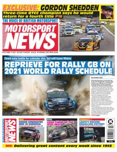 Motorsport News – October 15, 2020