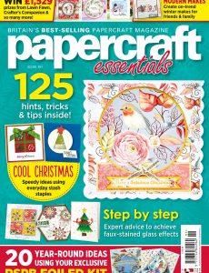 Papercraft Essentials – Issue 191 – October 2020