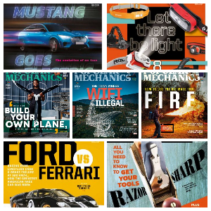 Popular Mechanics South Africa – Full Year 2020 Collection