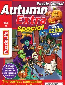 PuzzleLife Puzzle Annual Special – Issue 46 – October 2020