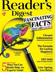 Reader's Digest India – October 2020