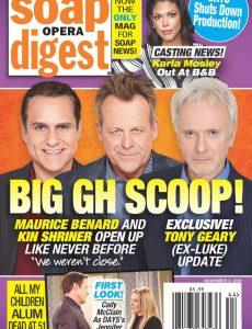 Soap Opera Digest – November 02, 2020