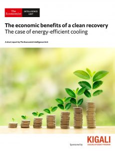 The Economist (Intelligence Unit) – The economic benefits of a clean recovery (2020)