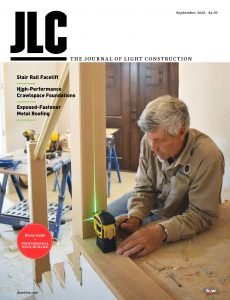 The Journal of Light Construction – September 2020