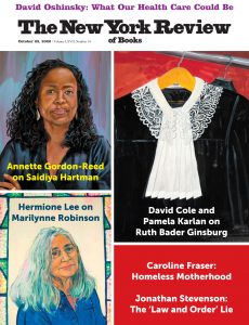 The New York Review of Books – October 22, 2020