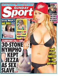 The Sunday Sport – 06 September 2020