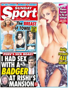 The Sunday Sport – 11 October 2020