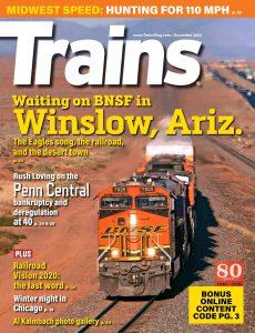 Trains – December 2020