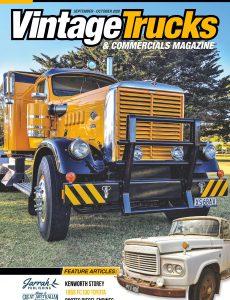 Vintage Trucks & Commercials – September-October 2020