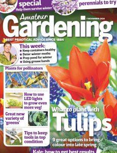 Amateur Gardening – 07 November 2020
