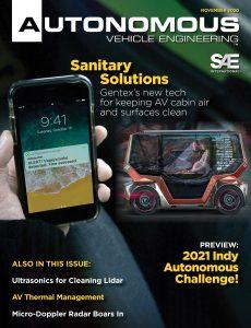 Autonomous Vehicle Engineering – November 2020