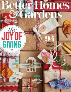 Better Homes & Gardens USA – December 2020