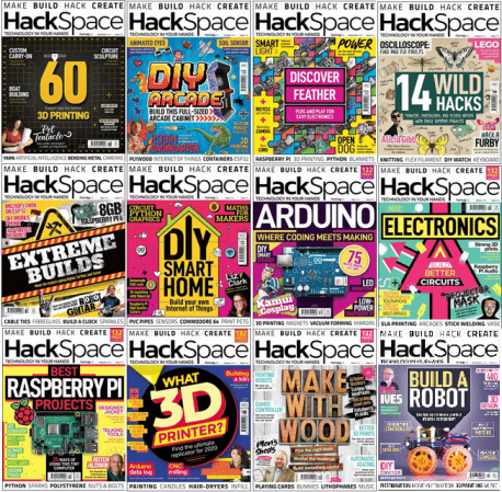 HackSpace – Full Year 2020 Issues Collection