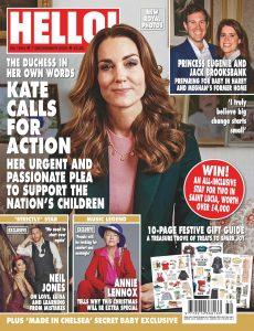 Hello! Magazine UK – 07 December 2020