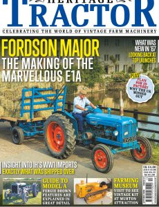 Heritage Tractor – Issue 13 – Autumn 2020