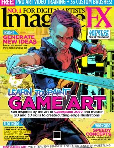ImagineFX – Issue 195, January 2021