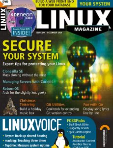 Linux Magazine USA – Issue 241 – December 2020