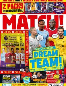 Match! – November 03, 2020