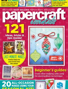 Papercraft Essentials – Issue 192 – November 2020