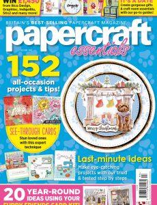 Papercraft Essentials – Issue 193 – December 2020