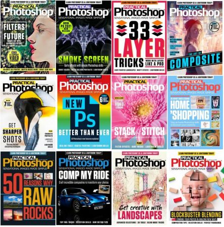 Practical Photoshop – Full Year 2020 Issues Collection