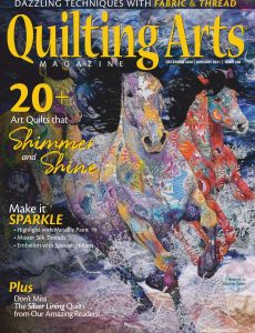 Quilting Arts – December 2020 -January 2021