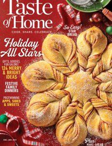 Taste of Home – December 2020- January 2021