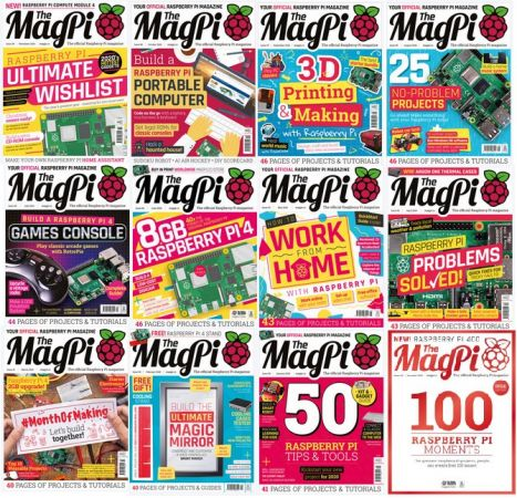 The MagPi – Full Year 2020 Issues Collection