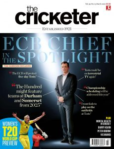 The Cricketer Magazine – March 2020