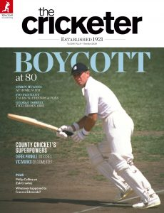 The Cricketer Magazine – October 2020