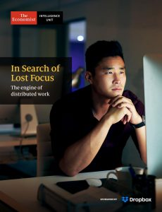 The Economist (Intelligence Unit) – In Search of Lost Focus (2020)