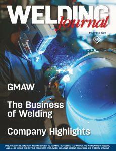 Welding Journal – November 2020