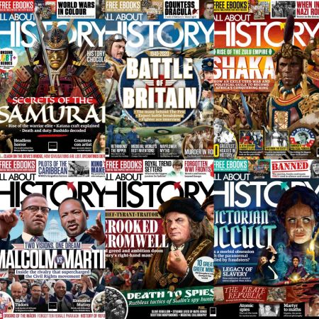 All About History – Full Year 2020 Issues Collection