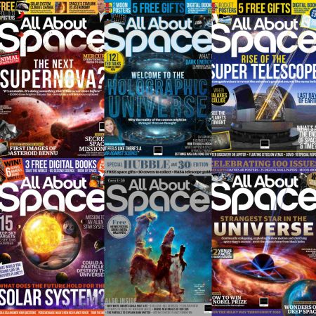 All About Space – Full Year 2020 Issues Collection