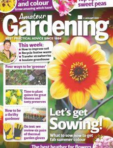 Amateur Gardening – 02 January 2021