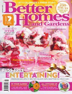 Better Homes and Gardens Australia – January 2021