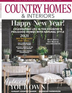 Country Homes & Interiors – January 2021