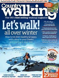 Country Walking – January 2021